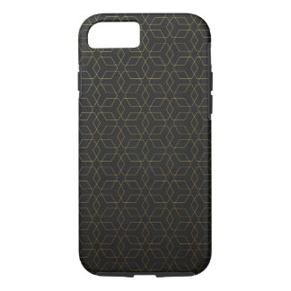 Gold and Black Geometric Phone Case
