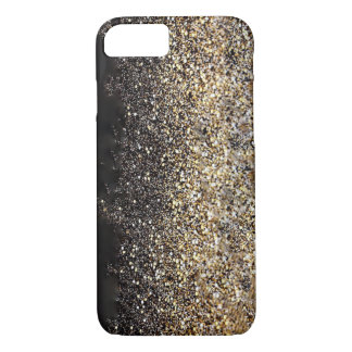 Gold and Black iPhone Case
