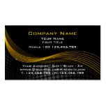 Gold and black Mouse Business Card