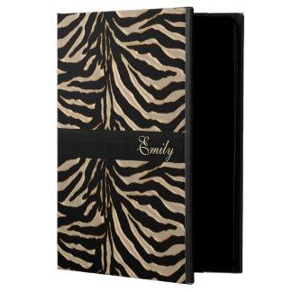 Gold and Black Zebra iPad Air 2 Case