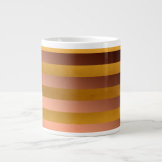 Gold and Bronze Large Coffee Mug