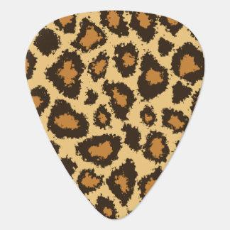 Gold and Brown Jaguar | Personalize Plectrum