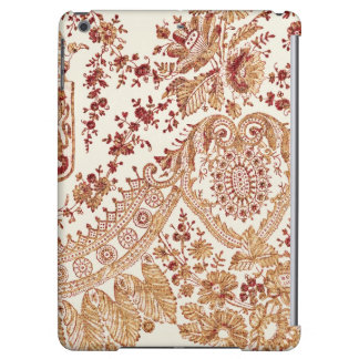 Gold And Red Lace Roses iPad Air Case