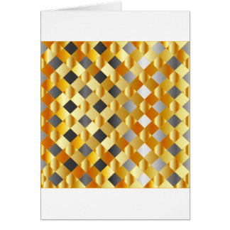 Gold and silver background card