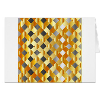 Gold and silver background greeting card