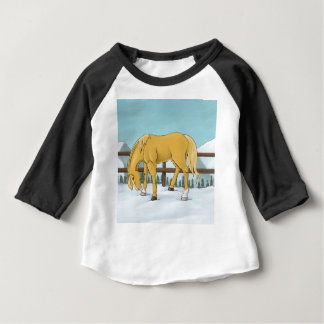 Gold and Snow Baby T-Shirt
