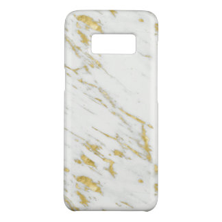 Gold And White Marble Stone Case-Mate Samsung Galaxy S8 Case