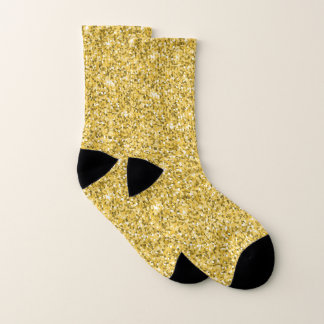 Gold And White Socks 1