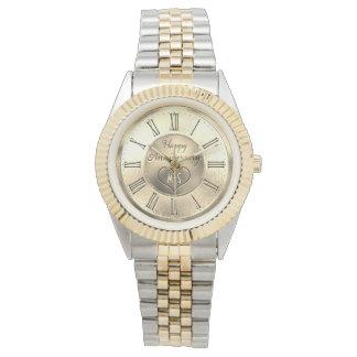 Gold Anniversary Monogram Watch