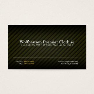 Gold Armani Suit Business Cards