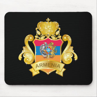 Gold Armenia Mouse Pad