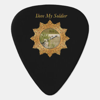 Gold Army anti tank guided missile Guitar Pick