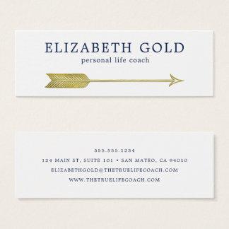 Gold Arrow Business Card