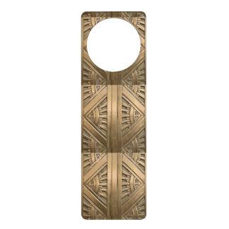 gold, art nouveau,art deco,vintage,chic,elegant,vi door hanger