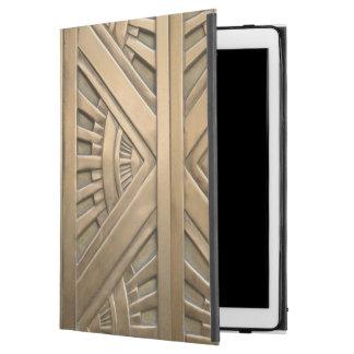 """gold, art nouveau,art deco,vintage,chic,elegant,vi iPad pro 12.9"""" case"""