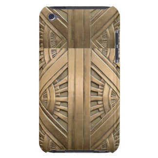 gold, art nouveau,art deco,vintage,chic,elegant,vi iPod touch cases