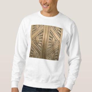 gold, art nouveau,art deco,vintage,chic,elegant,vi sweatshirt