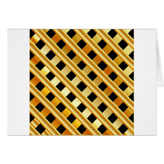 Gold background greeting card