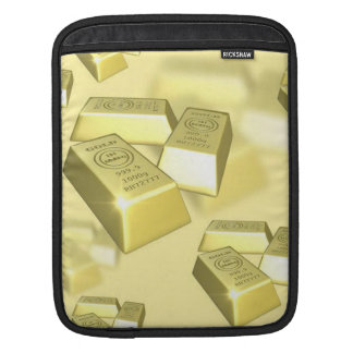 Gold Bars Sleeves For iPads