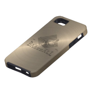 Gold Baseball iPhone 5 Cases
