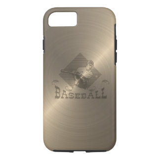 Gold Baseball iPhone 7 Case