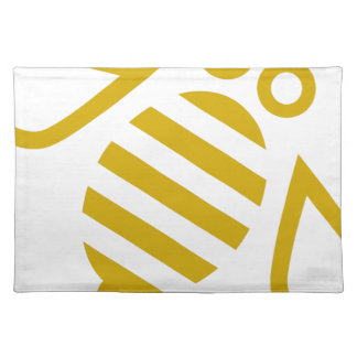 Gold Bee Placemat
