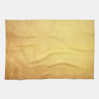gold bg tea towel