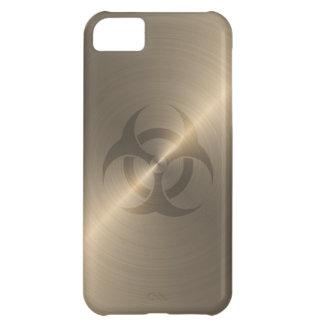 Gold Biohazard iPhone 5C Case
