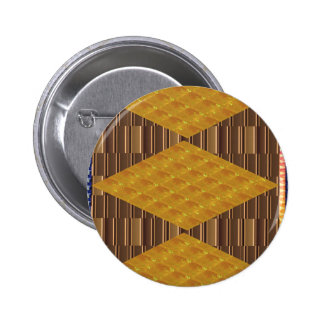 Gold Biscuits Golden Plates Decoration Gifts FUN Pins