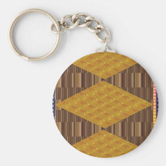 Gold Biscuits Golden Plates Decoration Gifts FUN Key Chains