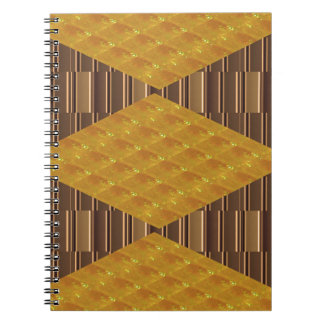 Gold Biscuits Golden Plates Decoration Gifts FUN Notebook