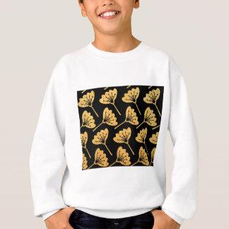 Gold & Black Floral Sweatshirt