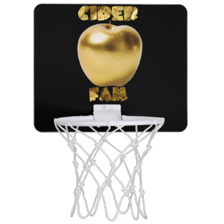 Gold/Black Mini BasketBall Hoop