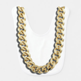 Gold Bling Baby Bib