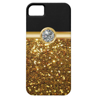 Gold Bling iPhone 5S Cases iPhone 5 Cover