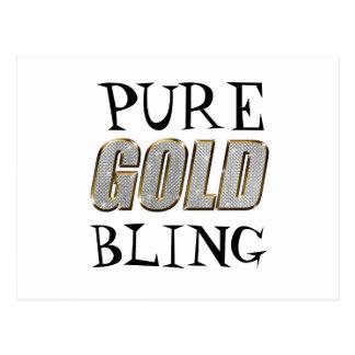 Gold Bling | Postcard