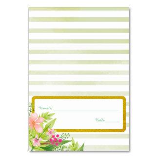 Gold Border | Wedding Place Card