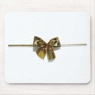 Gold Bow Mousepads