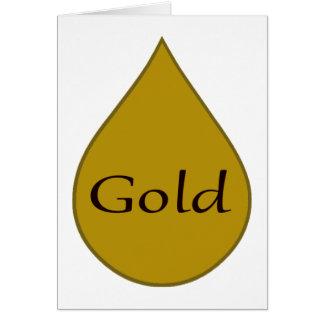 Gold breastfeeding award card 1 year