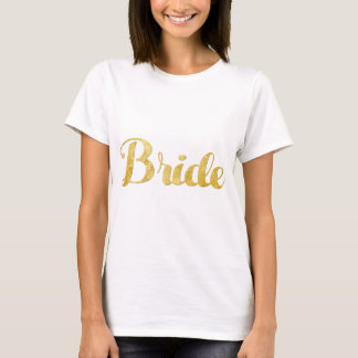 Gold bride T-Shirt