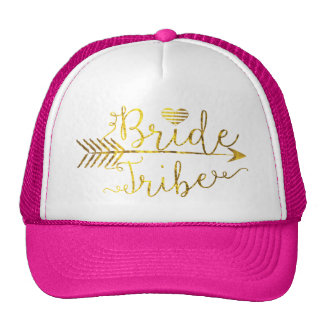 Gold Bride Tribe with Arrow Cap