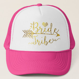 Gold Bride Tribe with Arrow Trucker Hat