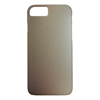 Gold Bronze Metallic Illusion Custom iPhone Case
