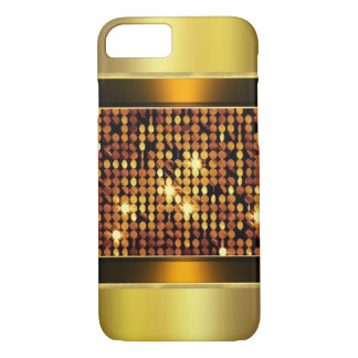 Gold Bronze Metallic iPhone Case