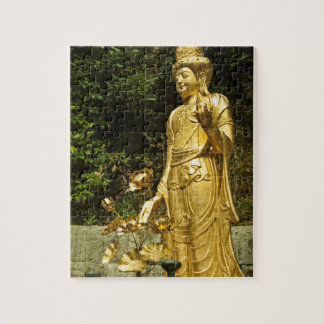 Gold Buddha  Ākāśagarbha  Bodhisattva  Akasagarbha Puzzles