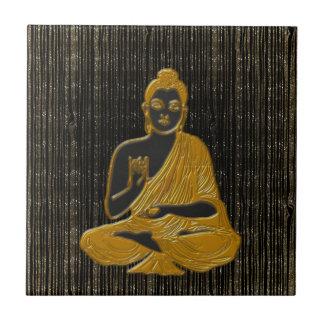 gold Buddha Ceramic Tile