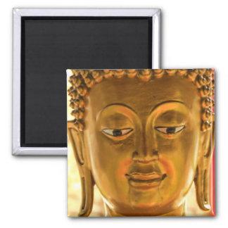 Gold Buddha Head Magnet