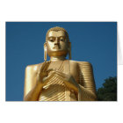 Gold Buddha Image Card