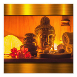 Gold Buddha Photo Print