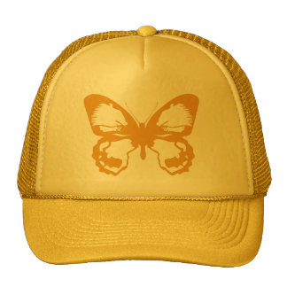 Gold Butterfly Cap